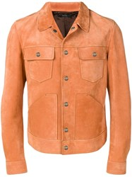 Tom Ford Suede Jacket Orange