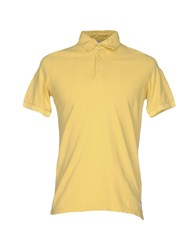 Authentic Original Vintage Style Polo Shirts Ocher