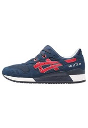 Asics Gellyte Iii Trainers Indian Ink Tango Red Dark Blue