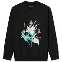 Raised By Wolves Trillium Crew Sweat Black
