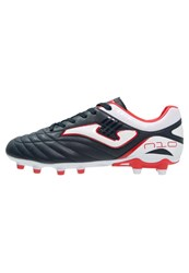 Joma N10 Football Boots Navy White Red Dark Blue