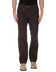Paoloni Trousers Casual Trousers Men Dark Brown