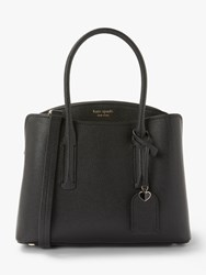 Kate Spade New York Margaux Leather Medium Satchel Black