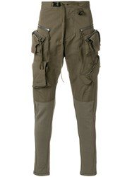 Julius Cargo Trousers Green