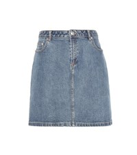A.P.C. Denim Skirt Blue