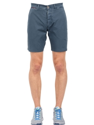 Unlimited Cotton Chino Bermuda Shorts Light Blue