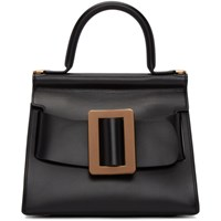 Boyy Black And Copper Karl 24 Top Handle Bag