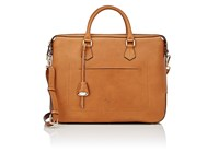Boldrini Selleria Men's Double Handle Briefcase Tan