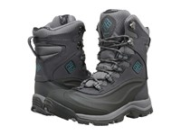 Columbia Bugaboot Plus Iii Omni Heat Shale Aqua Women's Cold Weather Boots Gray