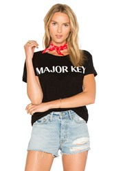 Private Party Major Key Tee Black