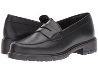 Munro American Jordi Black Leather Women's Slip On Dress Shoes