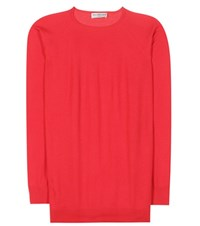 Balenciaga Cashmere Sweater Red