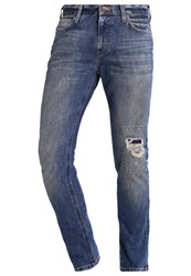 Lee Arvin Slim Fit Jeans Blue Blast Destroyed Denim