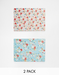 Cath Kidston Set Of 2 Document Wallets Bluewhite