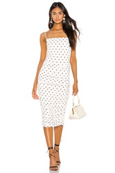Privacy Please Camille Midi Dress White