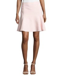Giambattista Valli Fit And Flare Crepe Skirt White