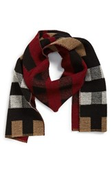 Men's Barbour 'Houghton' Check Wool Scarf