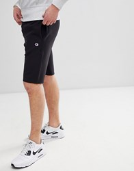 Champion Shorts With Small Logo In Black