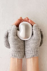 Urban Outfitters Baby It's Cold Outside Hand Warmer White