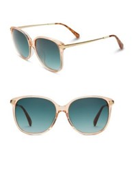 Toms 57Mm Butterfly Sunglasses Peach