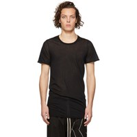 Rick Owens Black Basic T Shirt