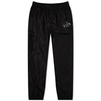 Valentino Elasticated Technical Vltn Pant Black