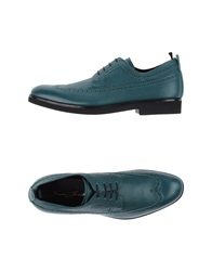 Bruno Bordese Lace Up Shoes Deep Jade
