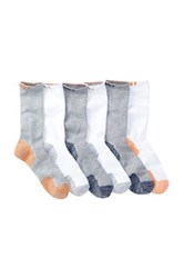 2Xist Sport 1 2 Terry Crew Socks Pack Of 6 White
