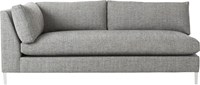 Cb2 Decker Left Arm Sofa