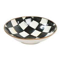 Mackenzie Childs Courtly Check Soup Coupe