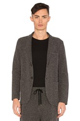 Robert Geller Richard Jacket Charcoal