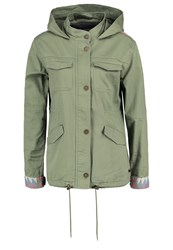 Roxy Sultanis Parka Green Oliv