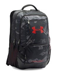 Under Armour Ua Storm Hustle Ii Backpack Black And Red