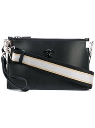 Versace Palazzo Medusa Wristlet Clutch Bag Women Calf Leather One Size Black