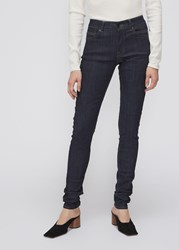 Rick Owens Drkshdw 'S Detroit Cut Denim Pants In Raw Blue Size 26 Cotton Polyethylene Elastane