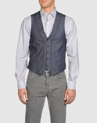 Alice San Diego Suits And Jackets Waistcoats Men Blue