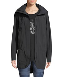 The North Face Apex Flex Gtx Zip Back Trench Coat Black
