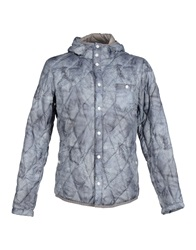 Swiss Chriss Down Jackets Grey