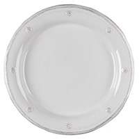 Juliska Berry And Thread Round Charger Plate Whitewash