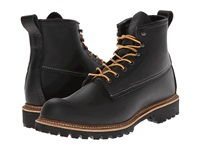 Red Wing Shoes 6 Ice Cutter Lug Round Toe Black Otter Tail Men's Lace Up Boots