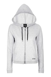 Zip Through Hoodie By Ivy Park Light Grey M