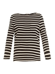 Ymc Striped Cotton Jersey T Shirt