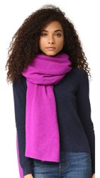 White Warren Cashmere Travel Wrap Aurora Heather