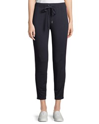 Bailey 44 Peace Lily Side Stripe Jogger Pants Black Pink