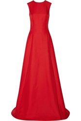 Adam By Adam Lippes Woven Gown Red
