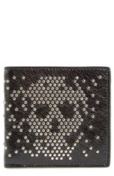 Alexander Mcqueen Men's Studded Leather Wallet