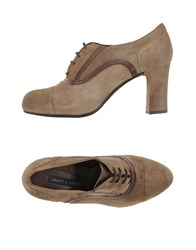 Janet And Janet Footwear Lace Up Shoes Women Grey