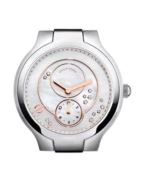 Philip Stein Teslar Philip Stein Stainless Steel Diamond Small Round Watch Head Mother