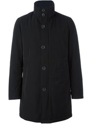 Herno Padded Raincoat Black