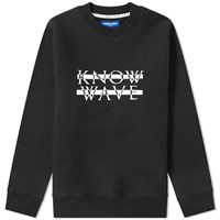 Know Wave Knockout Logo Crew Sweat Black